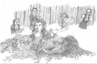"""The Legend of Sleepy Hollow."" Sketch by Jim Bakkom."