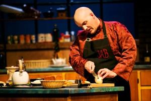 Garry Geiken as James Beard, the culinary maestro PHOTO CREDIT: Lauren B. Photography