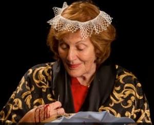"Shirley Venard in ""Perilous Night"" at Nimbus Theatre."
