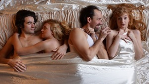 Nate Cheeseman, Hannah Steblay, Zachary Morgan, and Nissa Nordland. Photo by Zach Curtis.