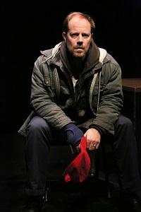 "Michael Milligan in ""Mercy Killers"". Photo by Michal Daniel."