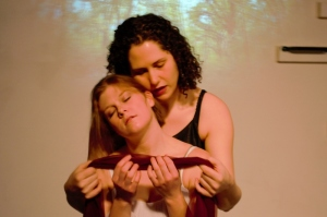 Emily Knotek and Tamara Koltes. Photo by Teresa Townsend