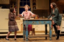 """Maggie Chestovich, Ashley Rose Montondo and Georgia Cohen in """"Crimes of the Heart"""". Photo by Joan Marcus."""