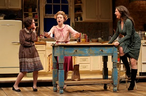 "Maggie Chestovich, Ashley Rose Montondo and Georgia Cohen in ""Crimes of the Heart"". Photo by Joan Marcus."