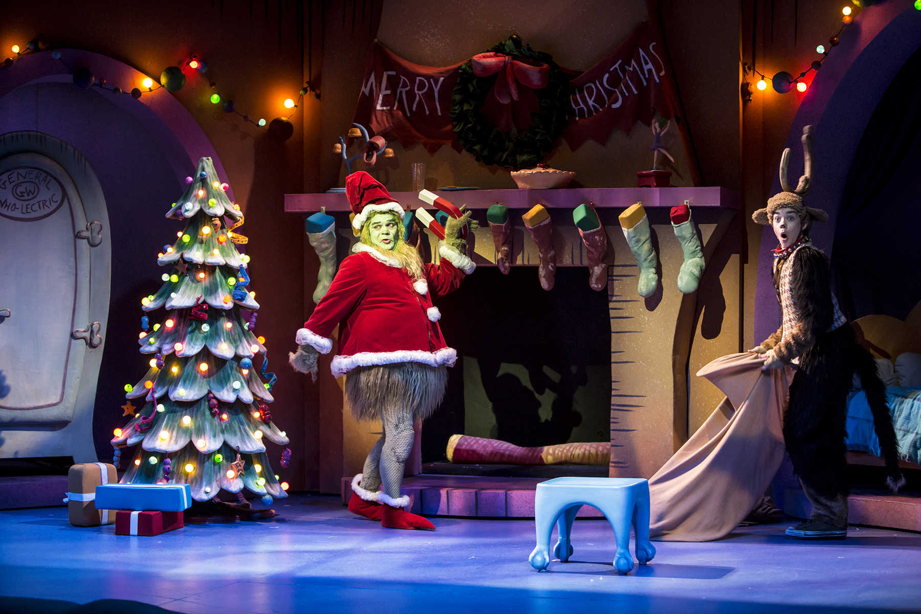 reed sigmund and brandon brooks photo by dan norman - How The Grinch Stole Christmas 2014