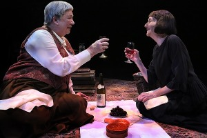 Gertrude Stein (Claudia Wilkens) and Alice B. Toklas (Barbara Kingsley). Photo by:  Michal Daniel