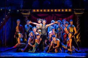 Sasha Allen and the Cast of the National Touring Production of PIPPIN. Photo by Terry Shapiro