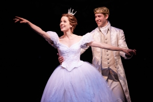Paige Faure & Andy Jones in the National Tour of Rodgers + Hammerstein's Cinderella