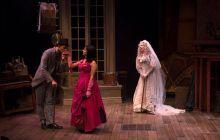 Ryan Colbert, Hope Cervantes and Barbra Berlovitz in Great Expectations. Photo by Petronella J. Ytsma.