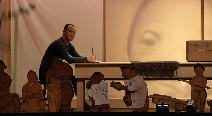 Crow Boy Rehearsal by Daniel Polsfuss