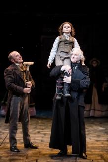 Cratchit, Tiny Tim, Scrooge